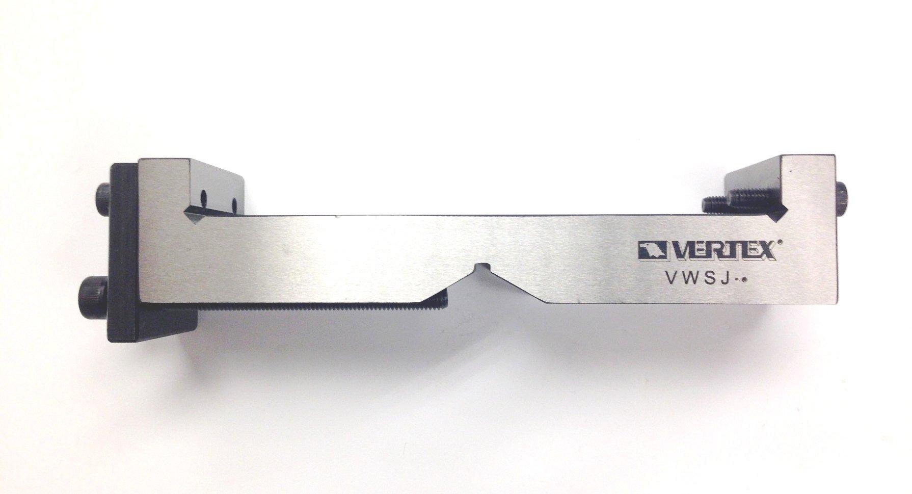 VERTEX 3900-2164 Universal V-Shape Vise Jaw for 4'' by Vertex