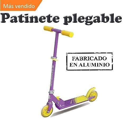 Patinete Scooter- con manillar ajustable de 2 ruedas