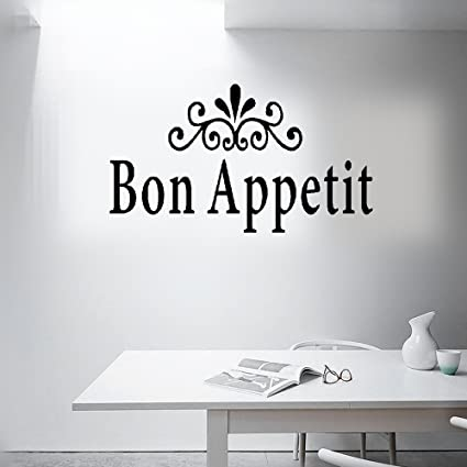 Amazon Earck Wall Sticker Quotes Dining Room Decor Bon