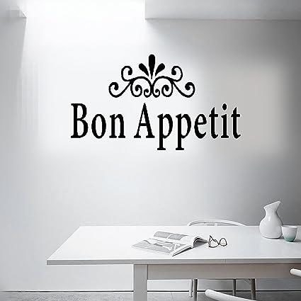 Amazon Earck Wall Sticker Quotes Dining Room Decor Bon