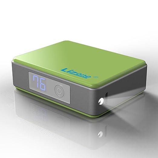 47 opinioni per Lizone® 5200mAh Mini Batteria Esterna Power Bank Caricabatterie Portatile con QC