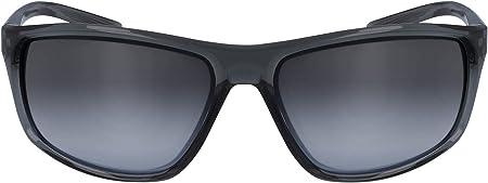 Nike EV1112-013 Adrenaline - Gafas de sol (montura gris), color gris y negro
