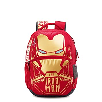 Skybags Sb Marvel Iron Man 32 Ltrs Red Casual Backpack  Marvel character   Amazon.in  Bags c8155848eb660