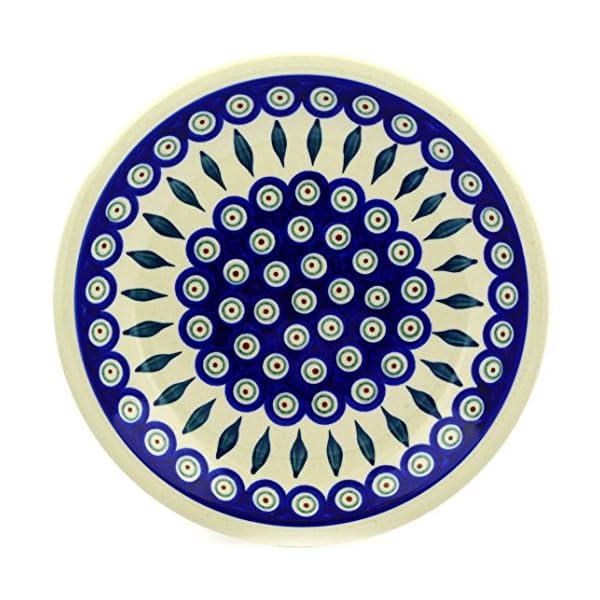 Polish Pottery Boleslawiec Plate, Dinner Plate, 24cm in LEAF pattern …