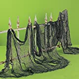 "4 yards x 30"" CREEPY CLOTH - spooky halloween decoration"