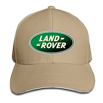 huseki Land Rover Logo Adjustable Snapback Peaked cap Baseball Hats Navy