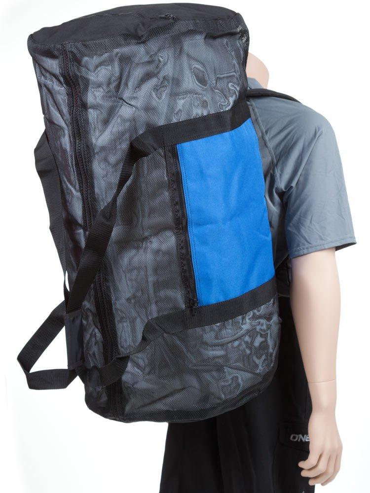 Rock N Sports Convertible mesh backpack/duffel bag Blue