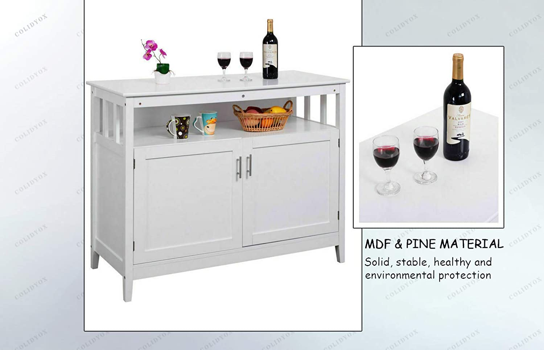 Amazon.com: COLIDYOX> Modern Kitchen Storage Cabinet, Buffet ...