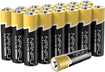 20-Pack Nanfu AA 1.5V Non Rechargeable Batteries