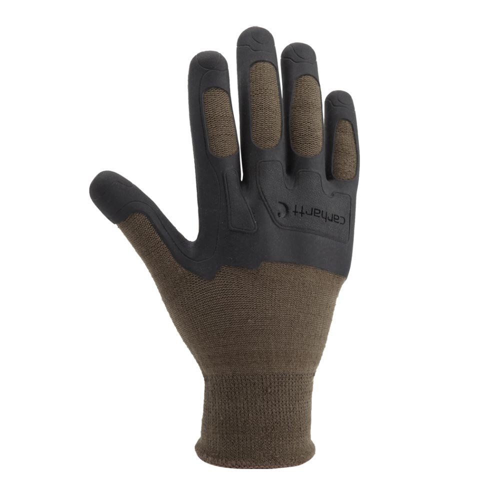Carhartt Men's C-Grip Knuckler High Dexterity Vibration Reducing Glove, Army, XX-Large