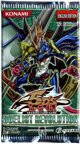 YuGiOh 5Ds Duelist Revolution Booster Pack 9 Cards [Toy]: Amazon.es: Juguetes y juegos