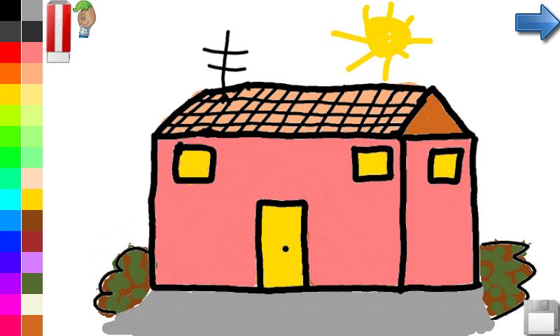 Libro para colorear: casa y castillo: Amazon.es: Appstore