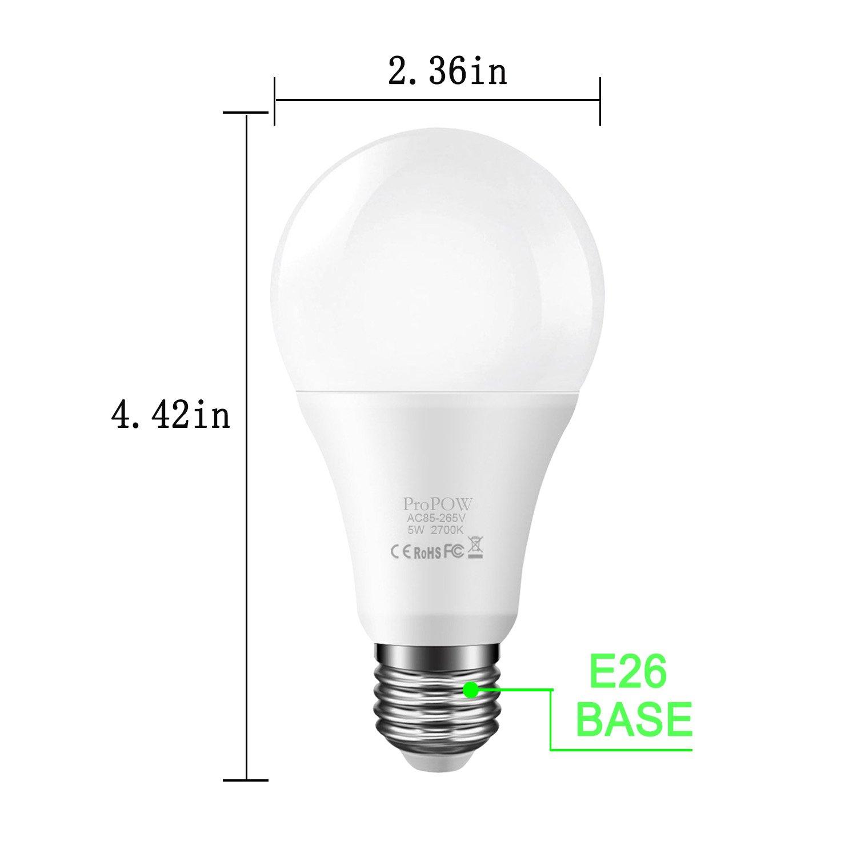 BR30 LED Bulb UL Listed Smartinliving LED Flood Light Bulbs 65 Watt Equivalent E26 Bulb 2700K Warm White for Recessed Lighting Indoor Flood Lights Spotlight 6 Pack 10W Kitchen Home Bulb