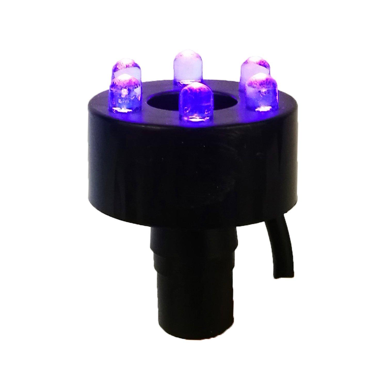 Éclairage annulaire LED Köhko 29002 - Pour fontaine de 2 mètres 29003-Schlauch Könige Hausdeko GmbH