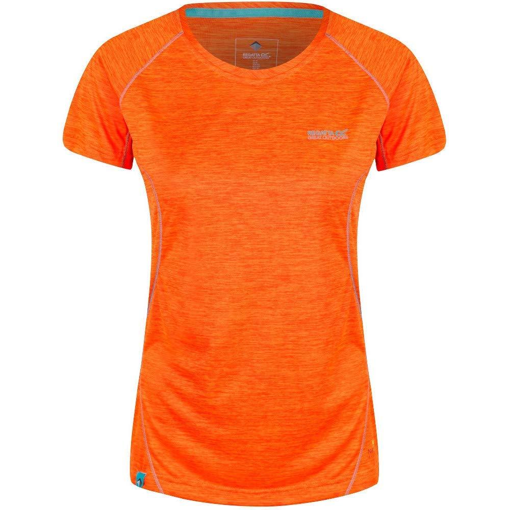Regatta Womens Deserta Nanotex Quick Drying Active Sports T-Shirt