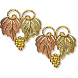 Landstroms 10k Black Hills Gold Classic Earrings, for Pierced Ears - A106P