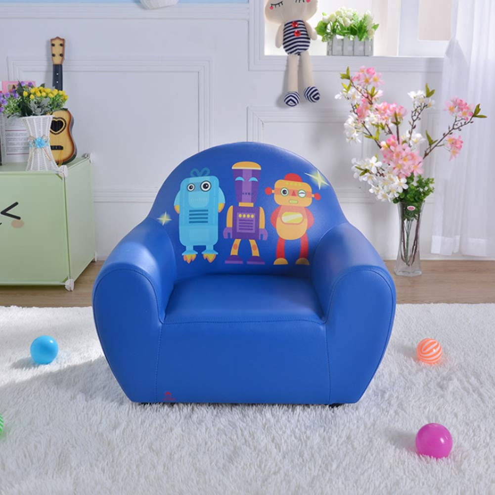 Amazon.com: HYYQG Mini Sofa for Kids Blue,Nordic Baby Kids ...