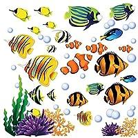 Adhesivos de pared adhesivos para el pelaje y el palo debajo del mar
