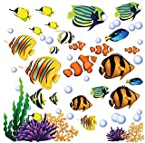 nemo window decals - Under the Sea Decorative Peel and Stick Wall Art Sticker Decals
