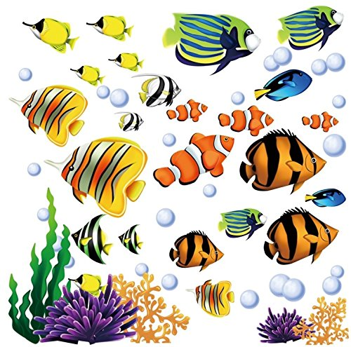 Under-the-Sea-Decorative-Peel-and-Stick-Wall-Art-Sticker-Decals