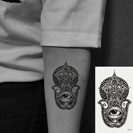 Oottati 2 Hojas Pequeño Lindo Tatuaje Temporal Tattoo Ojo De ...