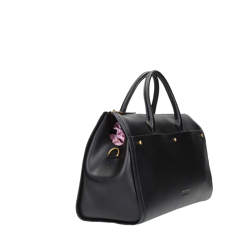 Coccinelle slät läder handväska Paulus Svart_svart, svart