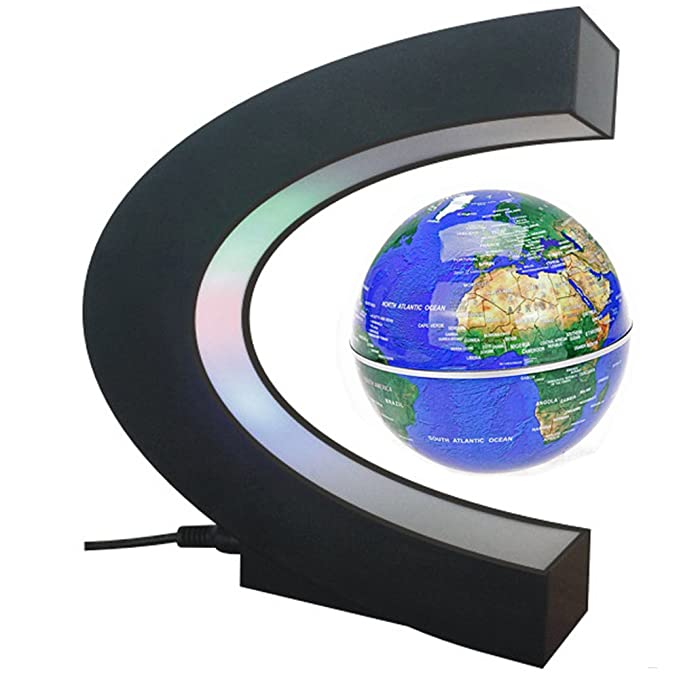 Floating globe arvin magnetic levitation globe rotating globe floating globe arvin magnetic levitation globe rotating globe educational learning geographic political world map with gumiabroncs Images