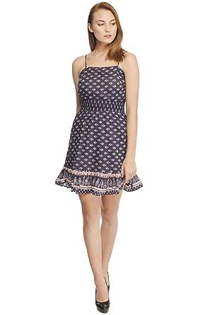 81c31c9bd34e YoO Fashions Cotton Printed Short Dress for Women/Girls: Amazon.in ...