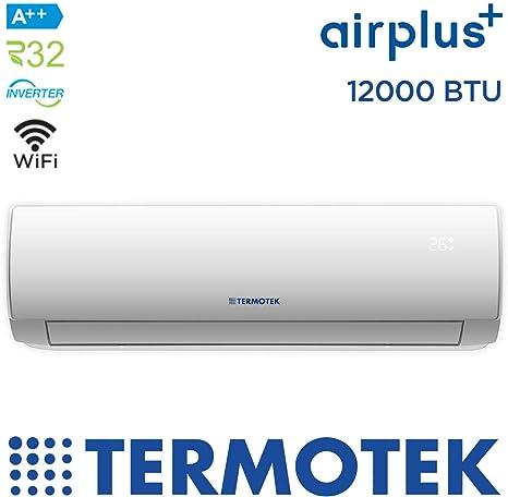 TERMOTEK AIRPLUS C12 - AIRE ACONDICIONADO 12000 BTU WIFI INVERTER ...
