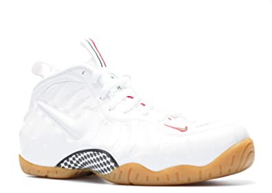 new arrivals b5b19 7ed4d Image Unavailable. Image not available for. Color  NIKE Air Foamposite Pro  Men s Running Shoes 624041-102 White 12 ...