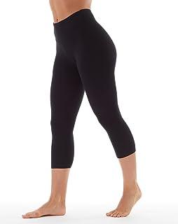7143c5ec7903d Amazon.com: Bally Total Fitness Womens High Rise Tummy Control Capri ...