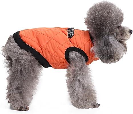 L-Peach Abrigo Chaqueta de Invierno para Perro Jacket Arnés ...