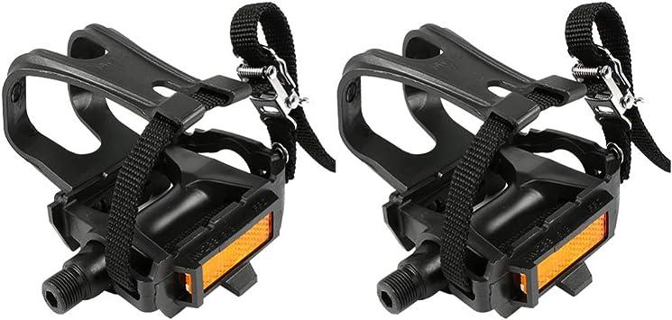 LIOOBO clips de pedal de bicicleta antideslizante parte de ...