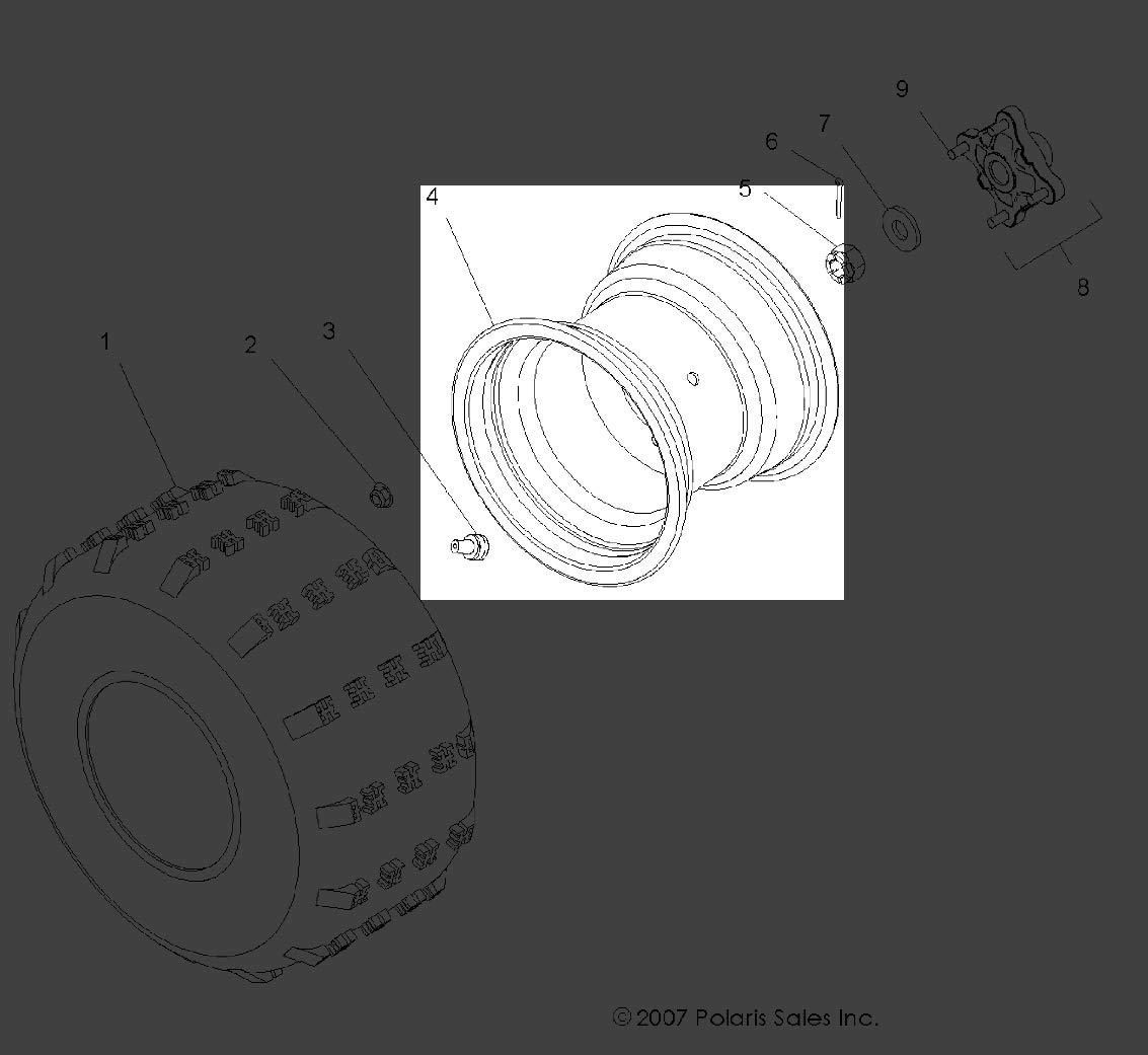 2007 Polaris Outlaw 500 Wiring Diagram Polaris Explorer 400 Wiring