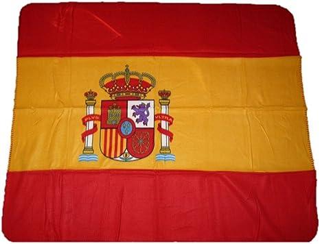 AES España español Bandera 50 x 60 Manta de Forro Polar: Amazon.es: Deportes y aire libre