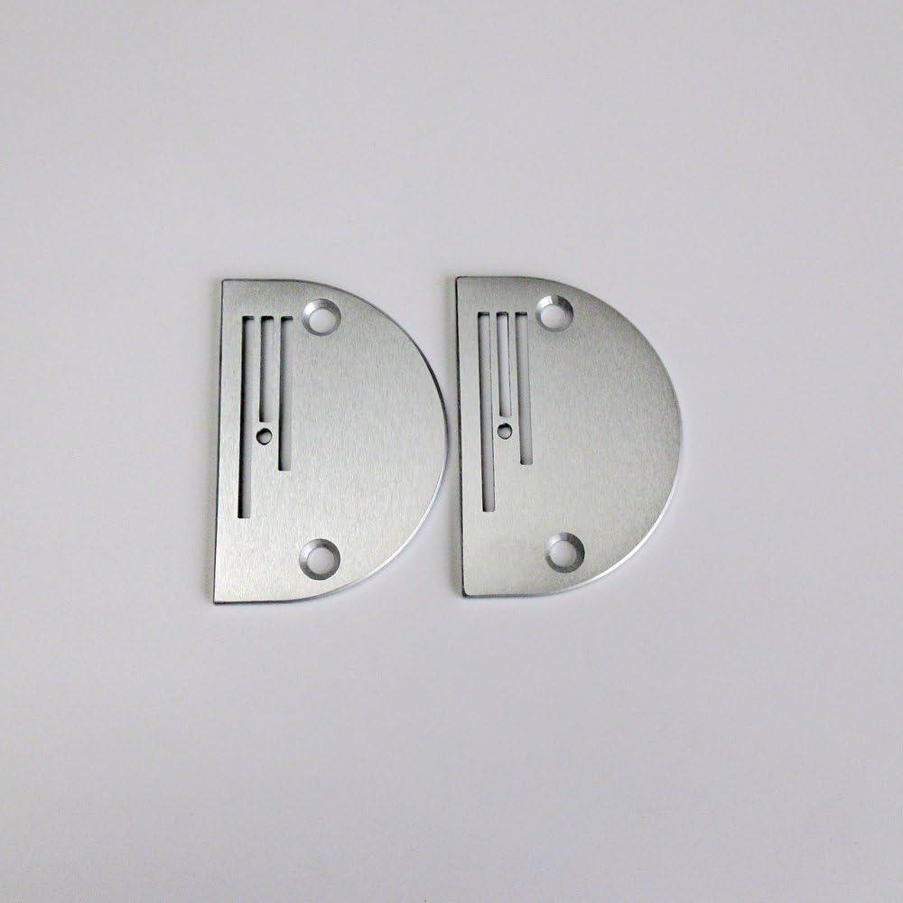 Placa de aguja B26 para máquina de coser industrial Brother Juki Singer, 2 unidades