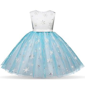 2b273263884 SamMoSon Fille Robe Princesse