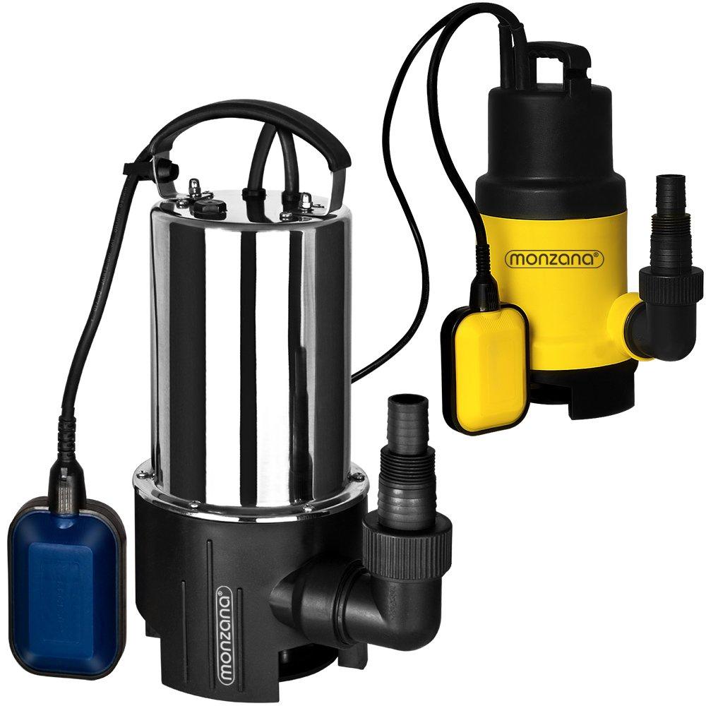 Pompe à eau submersible drainage évacuation d'eau inondation 650 W 11500 débit l/h Deuba