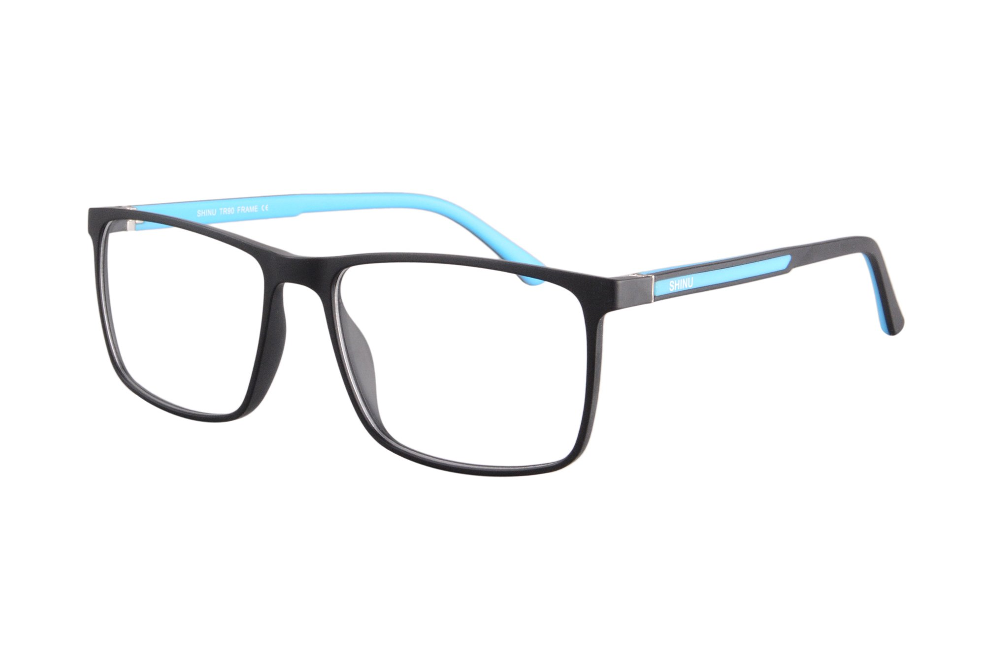 SHINU Anti Blue Light Transition Lens Glasses Photochromic Sunglasses with Prescription Myopia Glasses and Reading Glasses-SH077