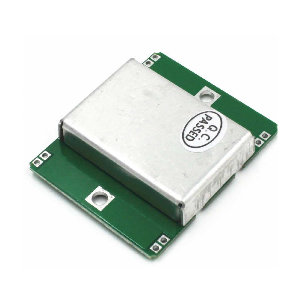 Solu Hb100 Microwave Sensor Module 10525ghz Doppler Radar Motion Lm358 100 Gain Signal Amplification Operational Amplifier Dc5 Detector Arduino Wireless Detectors Velocity