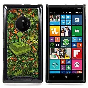 SKCASE Center / Funda Carcasa protectora - Modelo Retro Gaming;;;;;;;; - Nokia Lumia 830