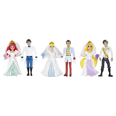 Disney Princess Fairytale Wedding Collection by Mattel: Toys & Games