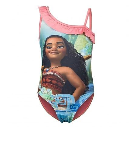 Vaiana - Traje de una Pieza - para niña: Amazon.es: Ropa y accesorios