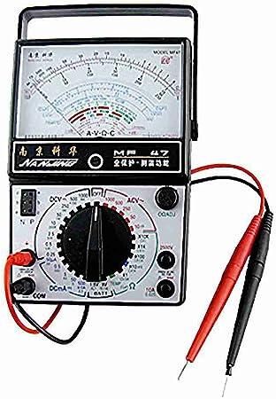 0 25 V 1000v Ac Ohm Ampere Dc Volt Analog Multitester Multimeter Baumarkt