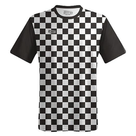 e4f18cc737025 Ultras Custom Checkerboard Team Soccer Jersey