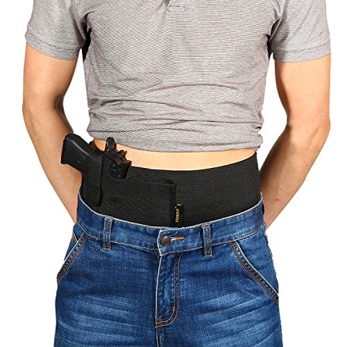 wohuu Belly Band Holster Elastic Concealed Carr...
