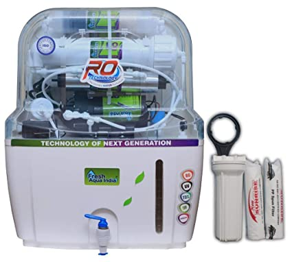 FRESH AQUA INDIA 15L 14STAGE RO UV UF TDS Alkaline Water Purifier with Full KIT (ZX300)
