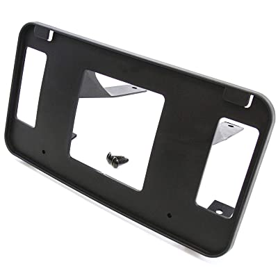 Red Hound Auto Front License Plate Bumper Mounting Bracket Compatible with Ford (F-150 1993-2003, Expedition 1997-2002) Frame Holder (NOT Compatible with Harley Davidson or Crew Cab Models): Automotive