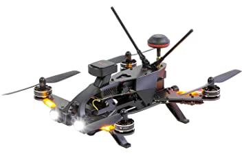 Walkera 15004600 - Runner 250 Pro Racing de Quadcopter RTF - FPV ...