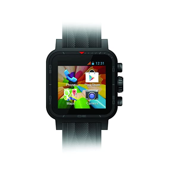 iconBIT NT-1503C reloj inteligente - relojes inteligentes (1024 MB, 8 GB, MicroSD (TransFlash), USB, 600 mAh, 76g) Rojo: Amazon.es: Informática